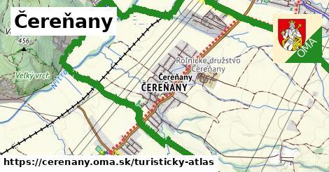 ikona Turistická mapa turisticky-atlas  cerenany