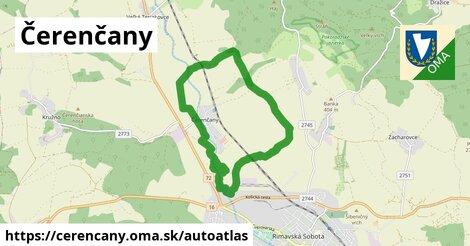 ikona Mapa autoatlas  cerencany