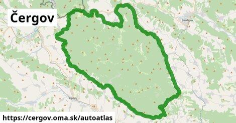 ikona Mapa autoatlas  cergov