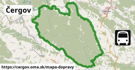 ikona Mapa dopravy mapa-dopravy  cergov