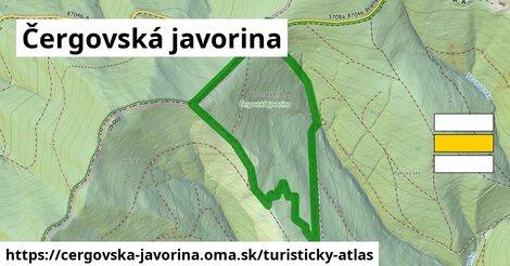 ikona Turistická mapa turisticky-atlas  cergovska-javorina