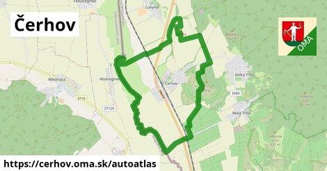 ikona Mapa autoatlas  cerhov