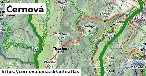ikona Mapa autoatlas  cernova
