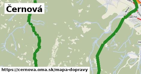 ikona Mapa dopravy mapa-dopravy  cernova