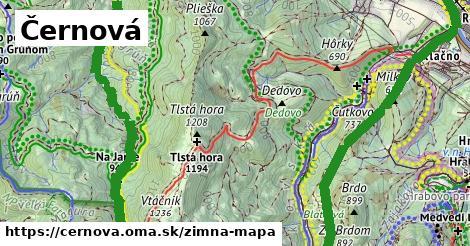 ikona Zimná mapa zimna-mapa  cernova