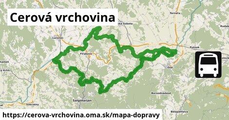 ikona Mapa dopravy mapa-dopravy  cerova-vrchovina