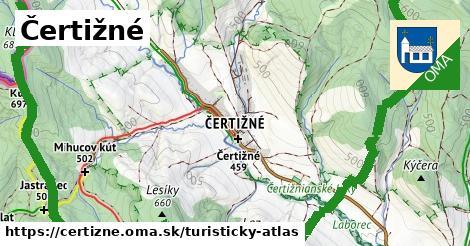 ikona Turistická mapa turisticky-atlas  certizne