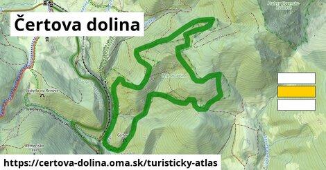 ikona Turistická mapa turisticky-atlas  certova-dolina