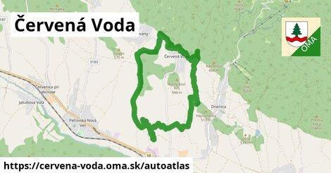 ikona Mapa autoatlas  cervena-voda