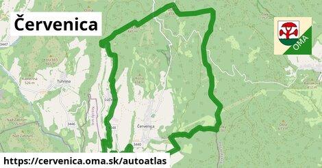 ikona Mapa autoatlas  cervenica