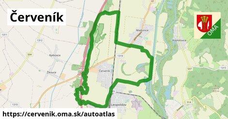 ikona Mapa autoatlas  cervenik