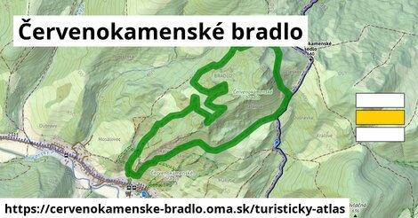 ikona Turistická mapa turisticky-atlas  cervenokamenske-bradlo