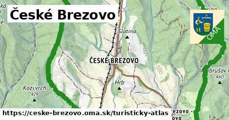 ikona Turistická mapa turisticky-atlas  ceske-brezovo