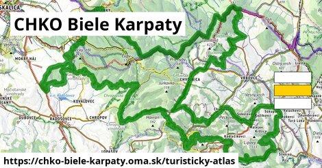 ikona Turistická mapa turisticky-atlas  chko-biele-karpaty
