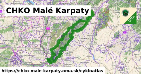 ikona Cykloatlas cykloatlas  chko-male-karpaty