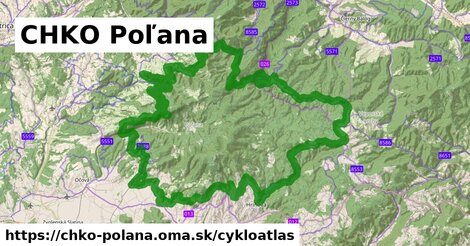 ikona Cykloatlas cykloatlas  chko-polana
