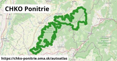 ikona Mapa autoatlas  chko-ponitrie