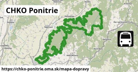 ikona Mapa dopravy mapa-dopravy  chko-ponitrie
