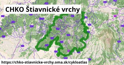 ikona Cykloatlas cykloatlas  chko-stiavnicke-vrchy