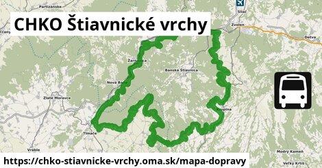 ikona Mapa dopravy mapa-dopravy  chko-stiavnicke-vrchy