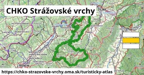 ikona Turistická mapa turisticky-atlas  chko-strazovske-vrchy