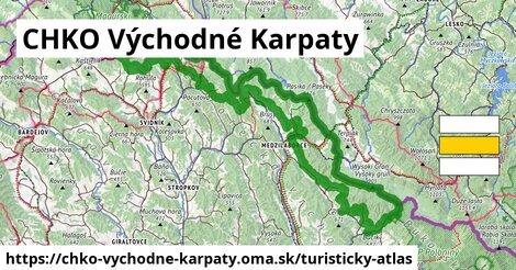 ikona Turistická mapa turisticky-atlas  chko-vychodne-karpaty
