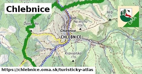 ikona Turistická mapa turisticky-atlas  chlebnice