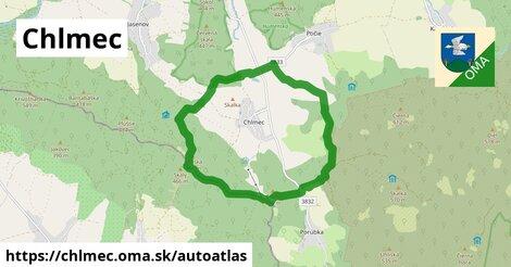 ikona Mapa autoatlas  chlmec