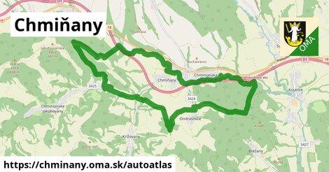 ikona Mapa autoatlas  chminany