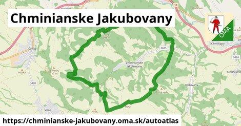 ikona Mapa autoatlas  chminianske-jakubovany