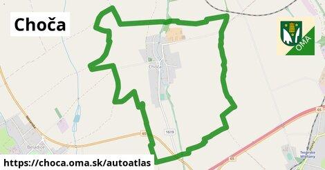 ikona Mapa autoatlas  choca
