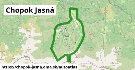 ikona Mapa autoatlas  chopok-jasna