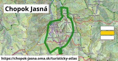 ikona Turistická mapa turisticky-atlas  chopok-jasna