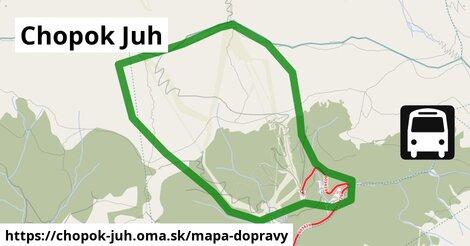 ikona Mapa dopravy mapa-dopravy  chopok-juh