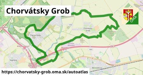 ikona Mapa autoatlas  chorvatsky-grob