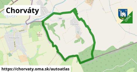 ikona Mapa autoatlas  chorvaty