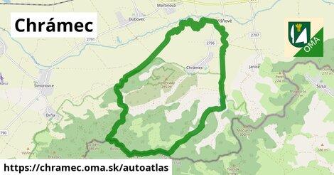ikona Mapa autoatlas  chramec