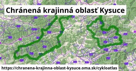 ikona Cykloatlas cykloatlas  chranena-krajinna-oblast-kysuce