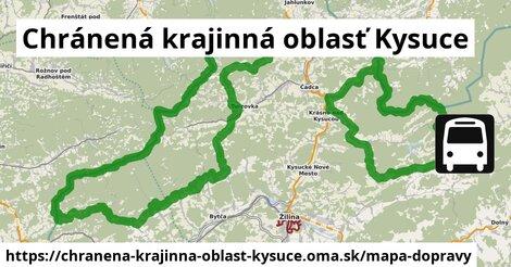 ikona Mapa dopravy mapa-dopravy v chranena-krajinna-oblast-kysuce