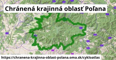 ikona Cykloatlas cykloatlas  chranena-krajinna-oblast-polana