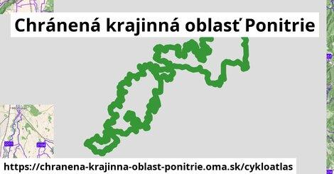ikona Chránená krajinná oblasť Ponitrie: 410km trás cykloatlas  chranena-krajinna-oblast-ponitrie