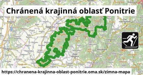 ikona Zimná mapa zimna-mapa  chranena-krajinna-oblast-ponitrie