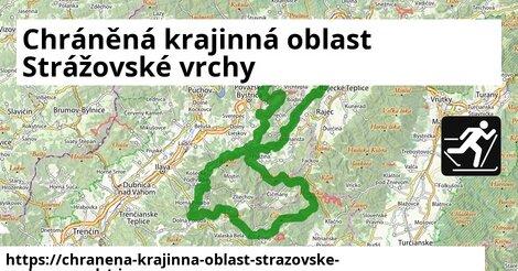 ikona Chráněná krajinná oblast Strážovské vrchy: 4,6km trás zimna-mapa  chranena-krajinna-oblast-strazovske-vrchy