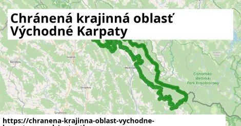 ikona Mapa autoatlas  chranena-krajinna-oblast-vychodne-karpaty