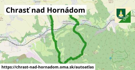 ikona Mapa autoatlas  chrast-nad-hornadom