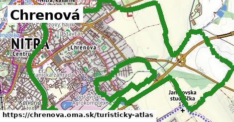ikona Chrenová: 0m trás turisticky-atlas v chrenova