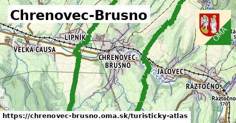 ikona Turistická mapa turisticky-atlas  chrenovec-brusno