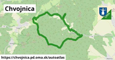 ikona Mapa autoatlas  chvojnica.pd