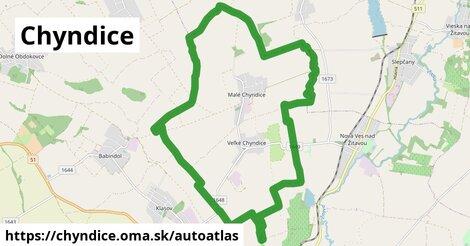 ikona Mapa autoatlas  chyndice