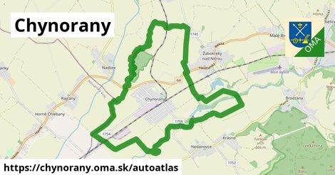 ikona Mapa autoatlas  chynorany